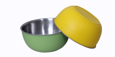 Liefde Stainless Steel Bowl Set(Multicolor, Pack of 2) at flipkart