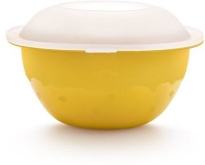 Lekue Plastic, Silicone Bowl(Yellow, White, Pack of 1) at flipkart