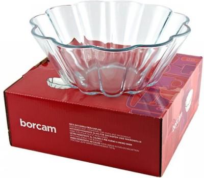 PASABAHCE Borcam Cake Dish Borosilicate Glass Dessert Bowl Clear, Pack of 1 PASABAHCE Bowls
