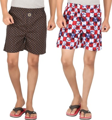 517133f14ec 52% OFF on Joven Assorted Checked Boxers Pack of 3 on Snapdeal ...