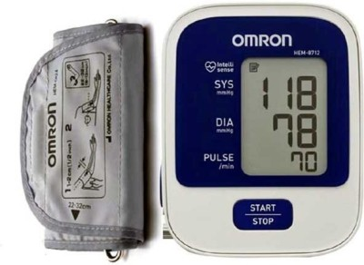 Omron HEM-8712 Bp Monitor(White)