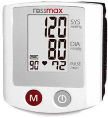 Rossmax S150 Portable Wrist Bp Monitor(White)