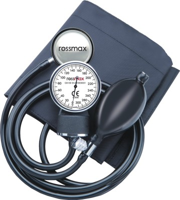 Rossmax GB Series Aneroid Sphygmomanometer(Black)  available at flipkart for Rs.714