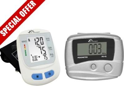 Dr. Morepen BP09+Pedometer Bp Monitor(White)