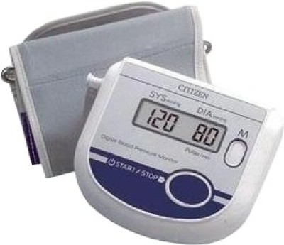 Citizen CH 432 Upper Arm Bp Monitor(White and Blue)  available at flipkart for Rs.1449