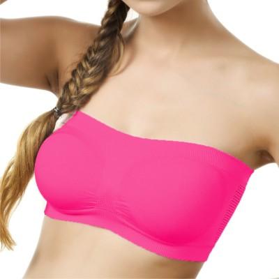 d823a26790632 61% OFF on La Verite Women s Tube Bra(Pink) on Flipkart