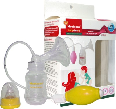 Morisons Baby Dreams Manual Breast Pump - Classic(Yellow)