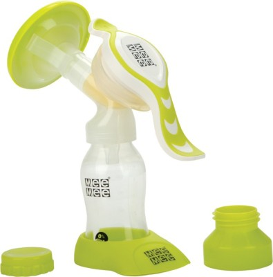 MeeMee Expert Manual Breast Pump With Rotary Handle  - Manual(Green)