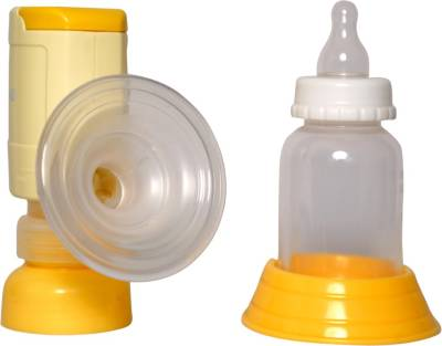 Niscomed Breast Pump  - Electric (White, Yellow)