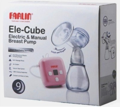 Farlin India's 1 Dual Breast Pump  - Electric(Pink) at flipkart