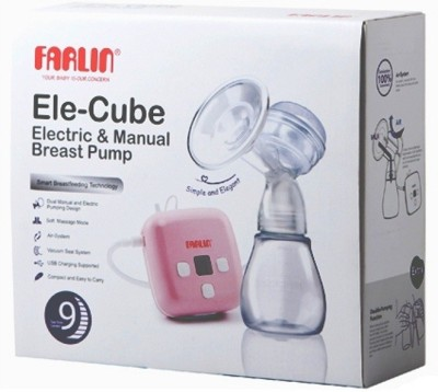 Farlin Farlin Electric & Manual Breast Pump  - Electric(Pink) at flipkart