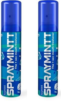 Midas Care Spraymintt Icymint Pack of 2(30 g)