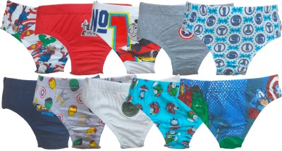 Instyle Brief For Boys(Multicolor Pack of 10)