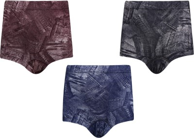 Red Rose Brief For Boys(Multicolor Pack of 3) at flipkart