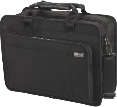Victorinox Parliament 15 Medium Briefcase - For Men & Women(Black) at flipkart