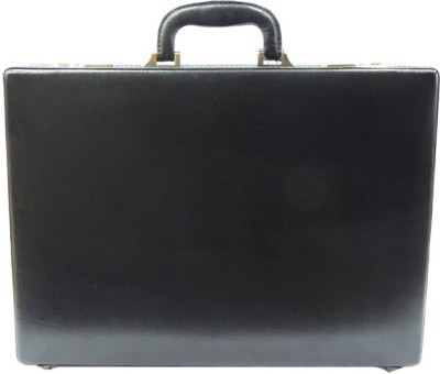 Mex Expendable Medium Briefcase - For Men(Black) at flipkart