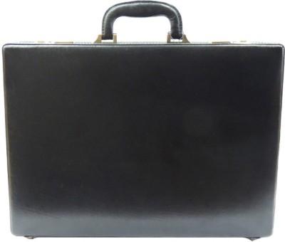 Mex Expendable Medium Briefcase - For Men(Black) at flipkart