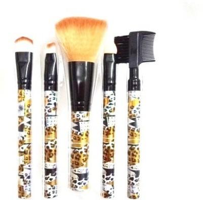 Exmon Beauty Brush Set Pack of 5 Exmon Makeup Brush