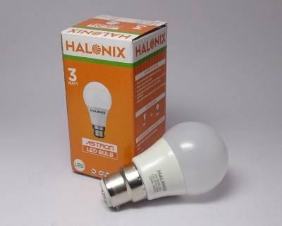 3-W-LED-Astron-Bulb-B22-Yellow