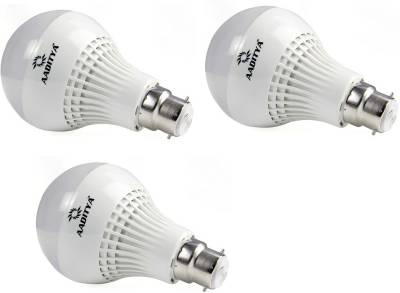 Aaditya-3W-B22-LED-Bulb-(White,-Pack-of-3)