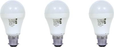 9W-Aluminium-Body-White-LED-Bulb-(Pack-of-3)-