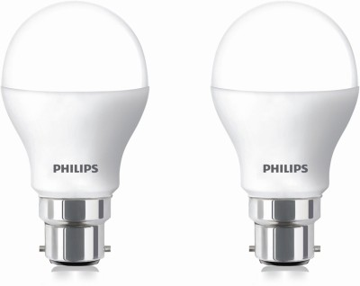 Philips-9-W-LED-cool-daylight-Bulb-B22-White-(pack-of-2)