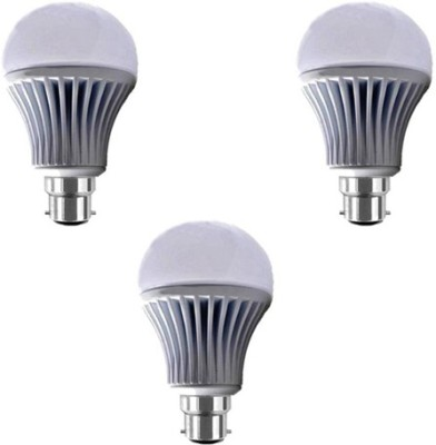 Yellowstar-7W-B22-LED-Bulb-(White)-[Pack-of-3]