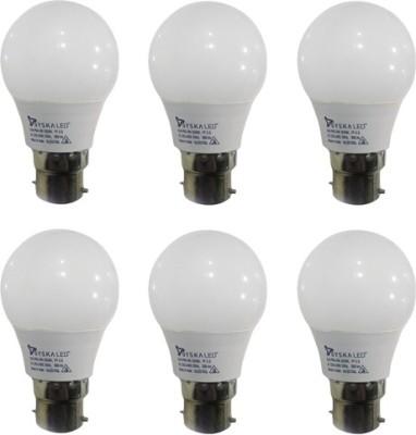 Syska-3-W-B22-PAG-LED-Bulb-(White,-Pack-of-6)