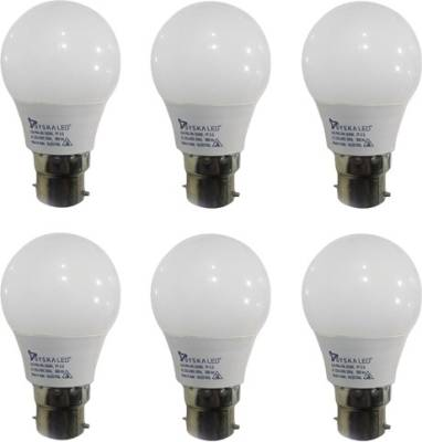 3-W-B22-PAG-LED-Bulb-(White,-Pack-of-6)-