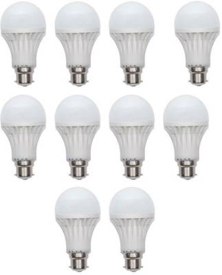 12W-Plastic-450-Lumens-White-LED-Bulb-(Pack-Of-10)