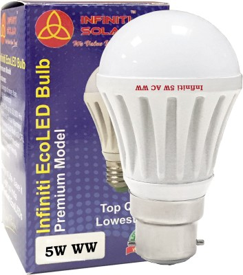 Infiniti-Eco-B22-5W-LED-Bulb-(Warm-White,-Pack-of-3)
