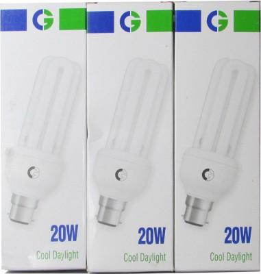 Crompton-Greaves-20-W-3U-CFL-Bulb-(Cool-Daylight,-Pack-of-3)