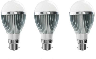 Novahertz-7W-B22-LED-Bulb-(White,-Set-of-3)