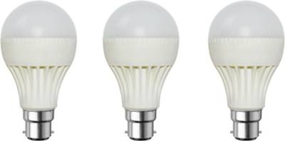 3-W-B22-LED-Bulb-(White,-Pack-of-3)