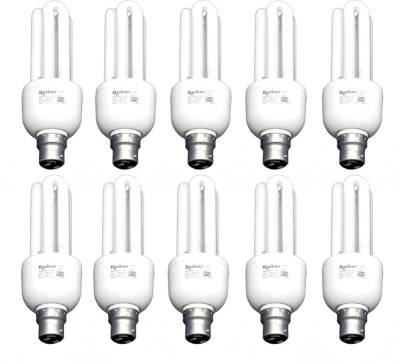 Rashmi 20 W 3U Lamp B22 Cap CFL Bulb (Cool Day Light, Pack of 10) Image