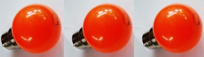 0.5W-Orange-LED-Bulb-(Pack-Of-3)