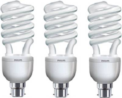 Philips Tornado B22 32 W CFL Bulb (Pack of 3) Image