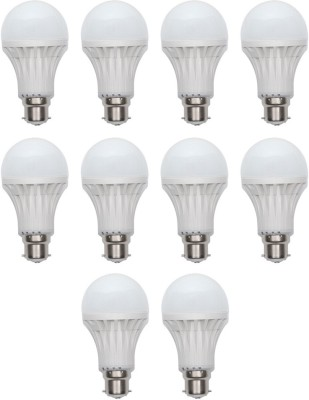 Harit-Energy-7W-B22-LED-Bulb-(White,-Set-of-10)