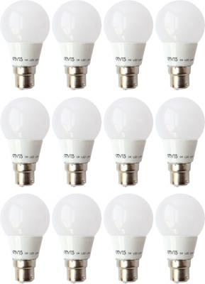 3-W-B22-LED-Bulb-(White,-Pack-of-12)-