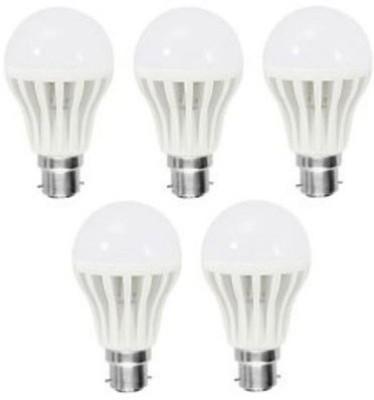 Jmt-Plus-7W-Plastic-White-LED-Bulb-(Pack-Of-5)