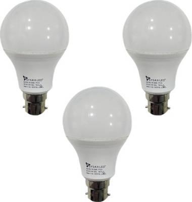 7-W-B22-PAG-LED-Bulb-(White,-Plastic,-Pack-of-3)