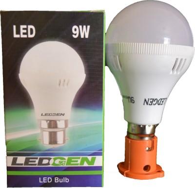 Ledgen-9W-White-LED-Bulb-(Pack-of-2)