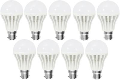 3-W-LED-Bulb-(White,-Pack-of-9)