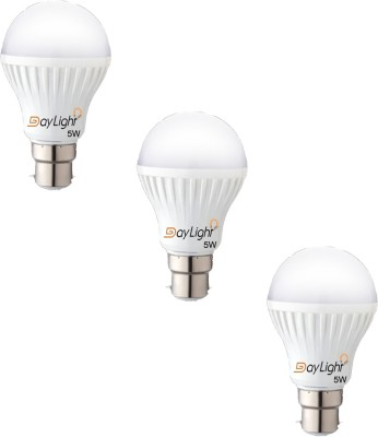 Daylight-Technology-5-W-LED-Bulb-(White,-Pack-of-3)