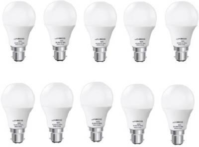 Jasco-9W-B22-LED-Bulb-(White,-Pack-of-10)