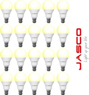 Jasco-5W-B22-LED-Bulb-(Yellow,-Pack-Of-20)