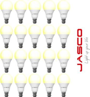 Jasco-5W-B22-LED-Bulb-(Yellow,-Pack-Of-20)