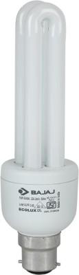 Bajaj 15 W B22 CFL Bulb(White)  available at flipkart for Rs.163