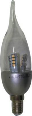 4W-E27-Candle-Yellow-LED-Bulb
