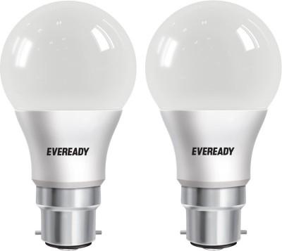 Eveready 5 W Standard B22 LED Bulb White, Pack of 2 Eveready Bulbs